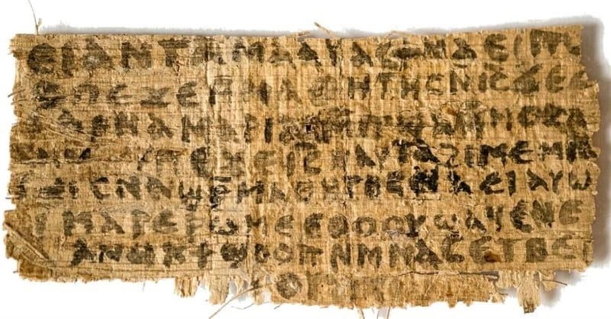 3. 'Oldest Manuscript' of Gospel of Mark Discovered