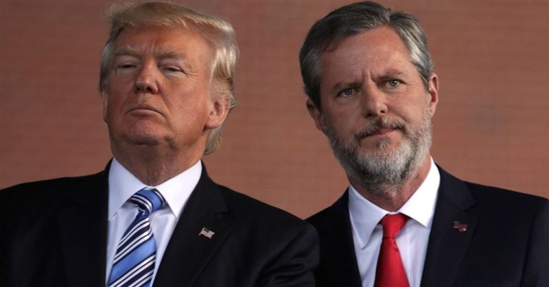 Jerry Falwell, Jr. Tells Evangelicals Not to Choose the President Based on Their 'Personal Behavior'