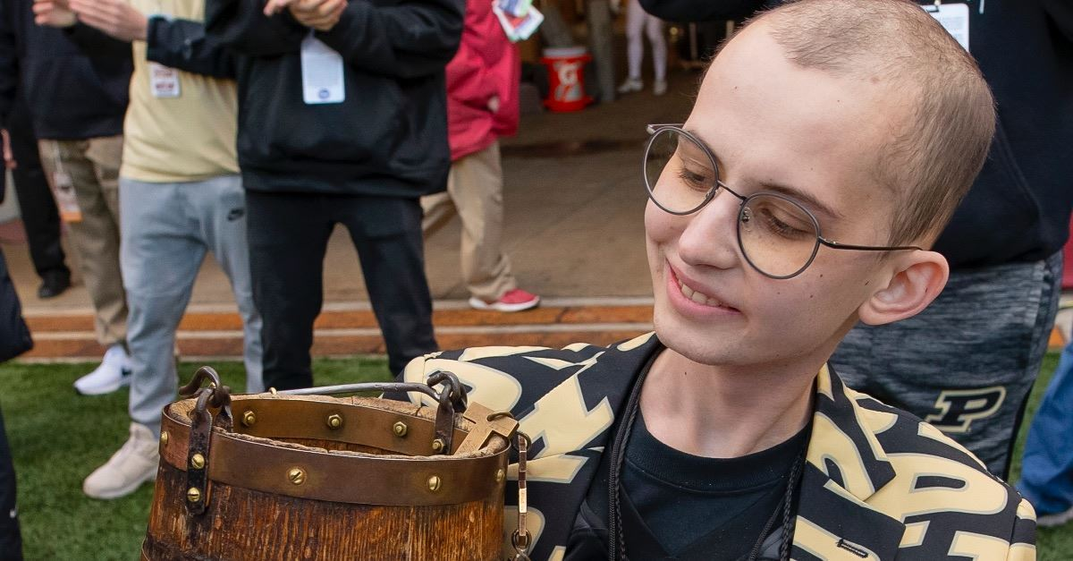Purdue Superfan Tyler Trent, Whose Goal Was to 'Spread the Love of Christ,' Dies