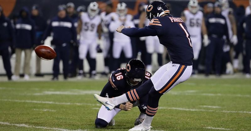 Chicago Bears Kicker Cody Parkey Misses Game Winning Field Goal, Praises God Anyway