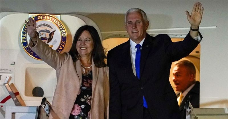 Vice President Mike Pence's Wife Under Fire for Working at a Conservative Christian School