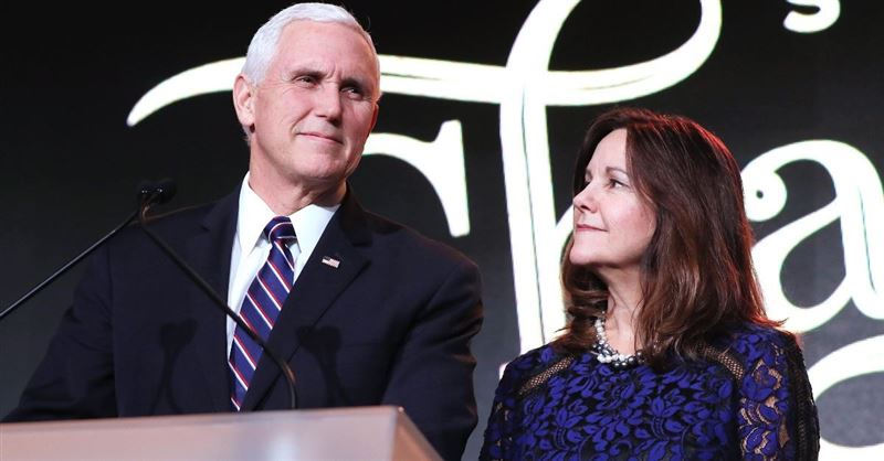 'Criticism of Christian Education in America Should Stop,' Vice President Pence Defends His Wife amid Media Backlash
