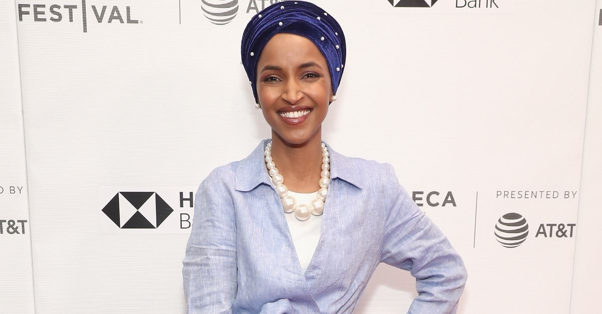 Rep. Ilhan Omar Says She 'Almost Chuckles' When People Say Israel Is a Democracy