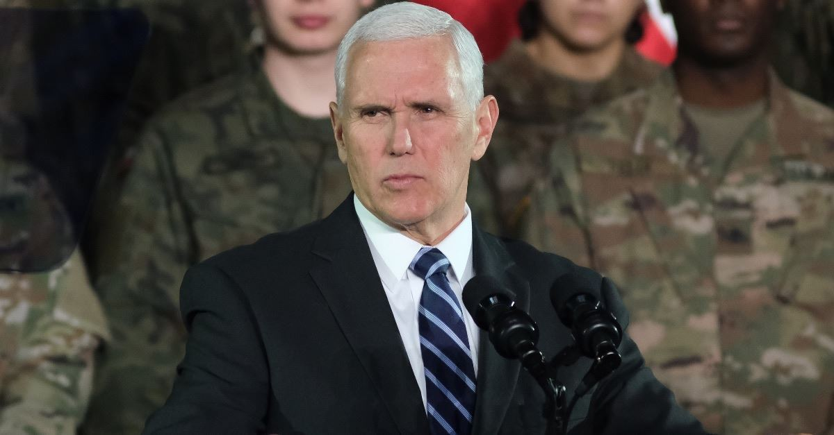 Mike Pence Warns World Leaders of Iranian Plot for 'Another Holocaust' in Israel