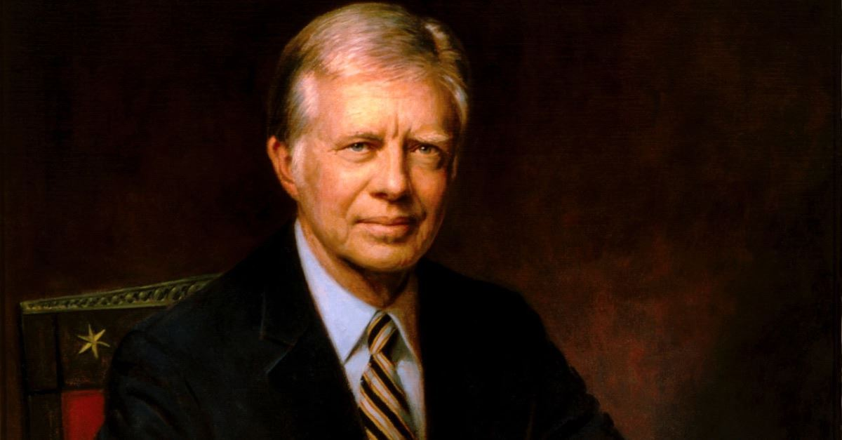 1. President Jimmy Carter
