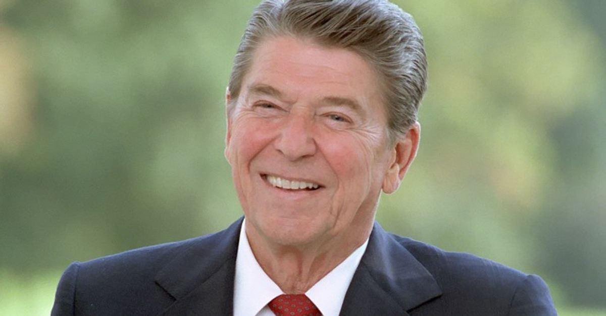2. President Ronald Reagan