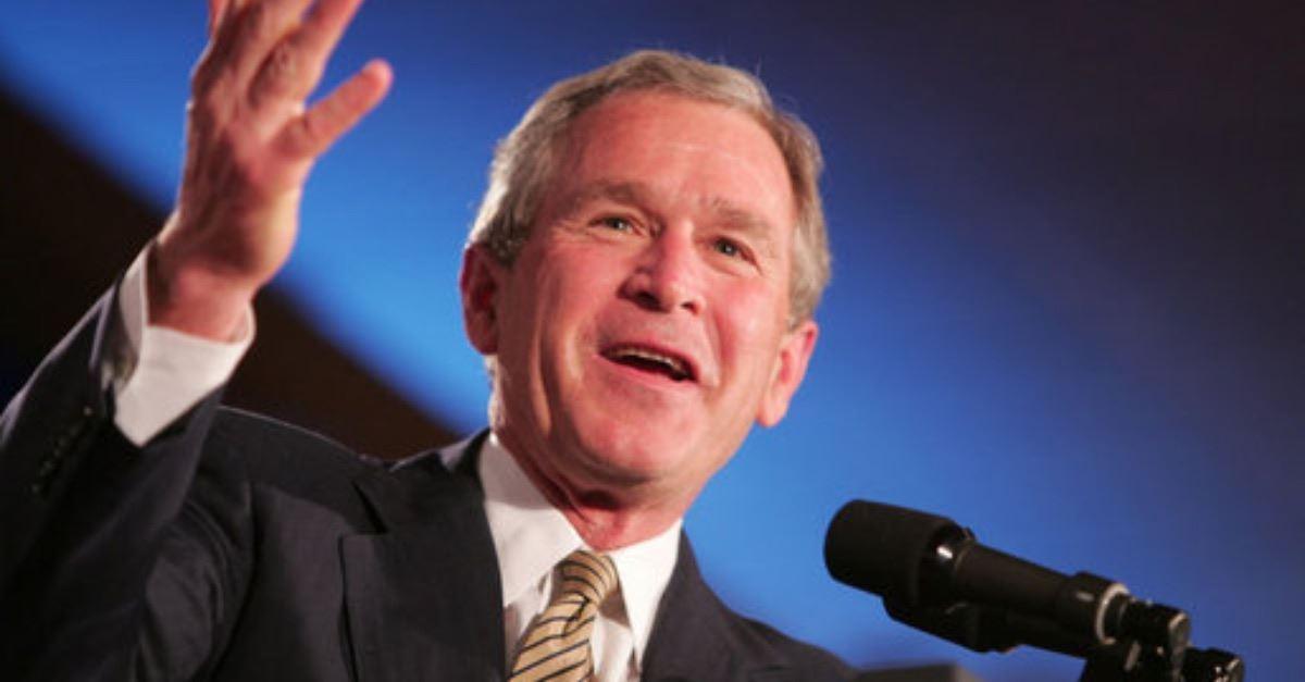 5. President George W. Bush