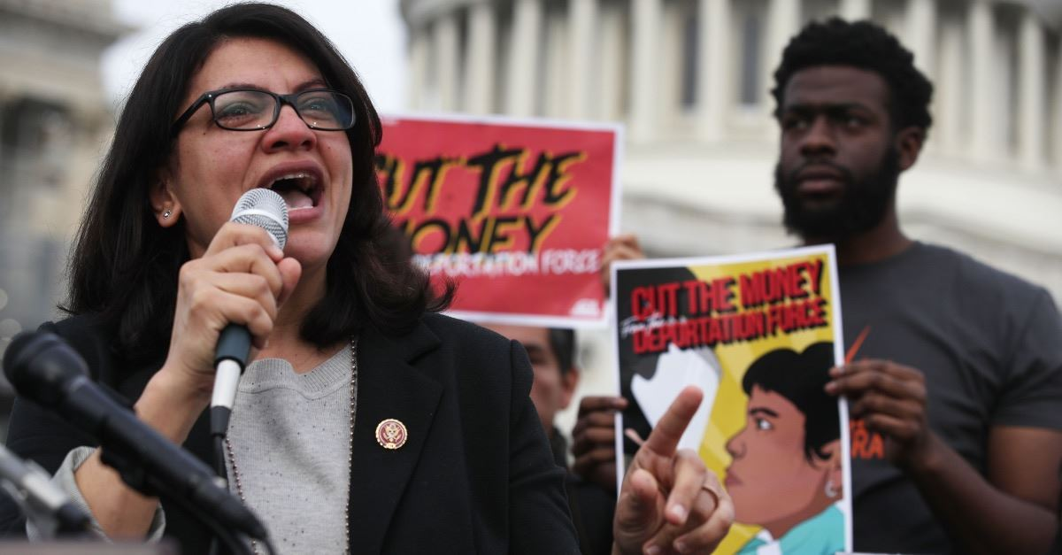 Pro-BDS Congresswoman Used Israeli Product to Build Her Campaign Website