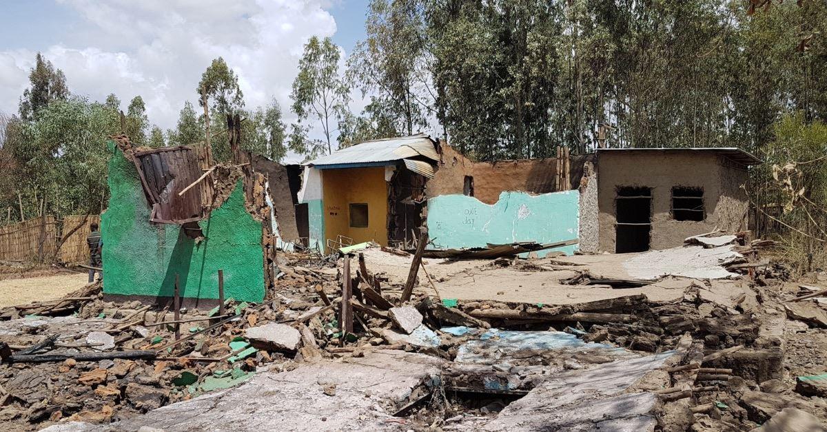 Muslim Mobs Attack 10 Church Buildings in Ethiopia
