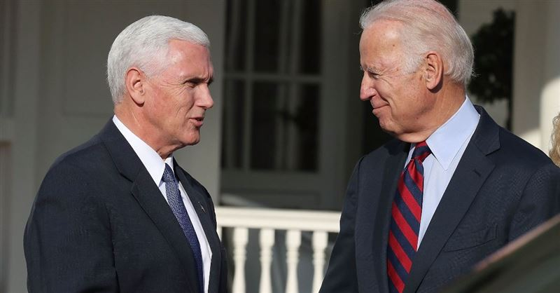 Pastor Supports Mike Pence, Calls Out Joe Biden for Flip-Flopping