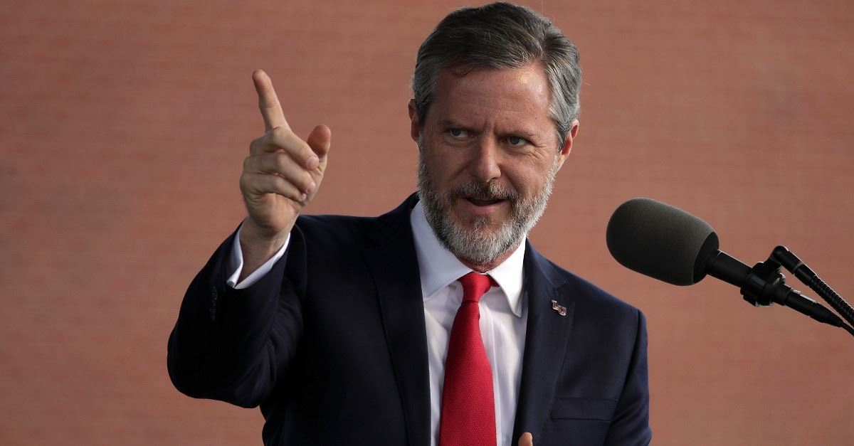 Jerry Falwell, Jr. Says He Will Raise His Granddaughter as a Girl, Some Liberty University Students Protest