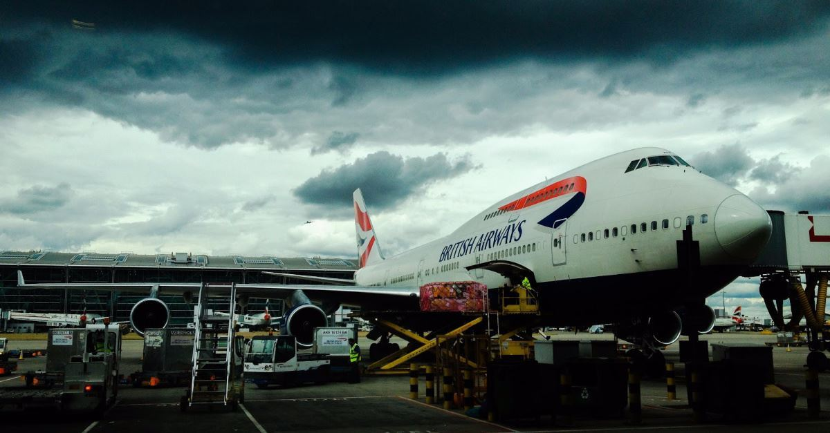 British Airways Jet Lands in Wrong Country on Purpose