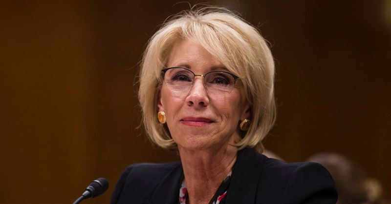 Betsy DeVos Under Fire for Defending Budget Proposal Seeking to Eliminate Special Olympics Funding