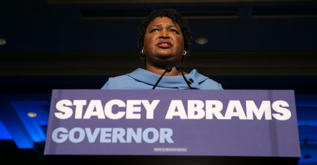 Stacy Abrams Calls Georgia Heartbeat Bill 'Evil' and Says it's 'Bad for Business'