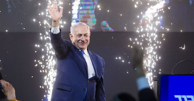 Israeli Prime Minister Benjamin Netanyahu Wins Re-Election despite Pending Criminal Indictment
