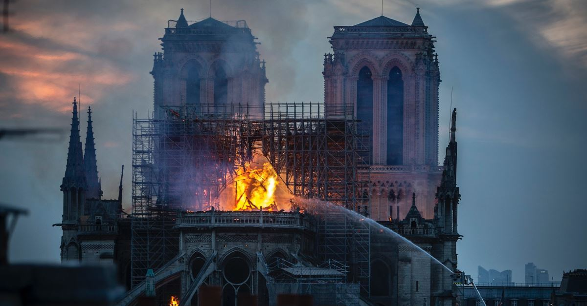 The Fire at the Notre Dame Cathedral Cannot Destroy the Church