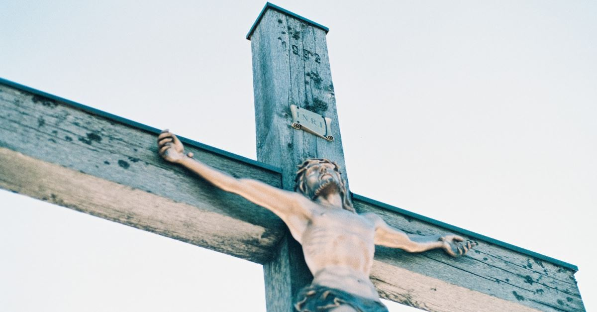 Tomorrow Is Good Friday: Stop, Reflect, Pray