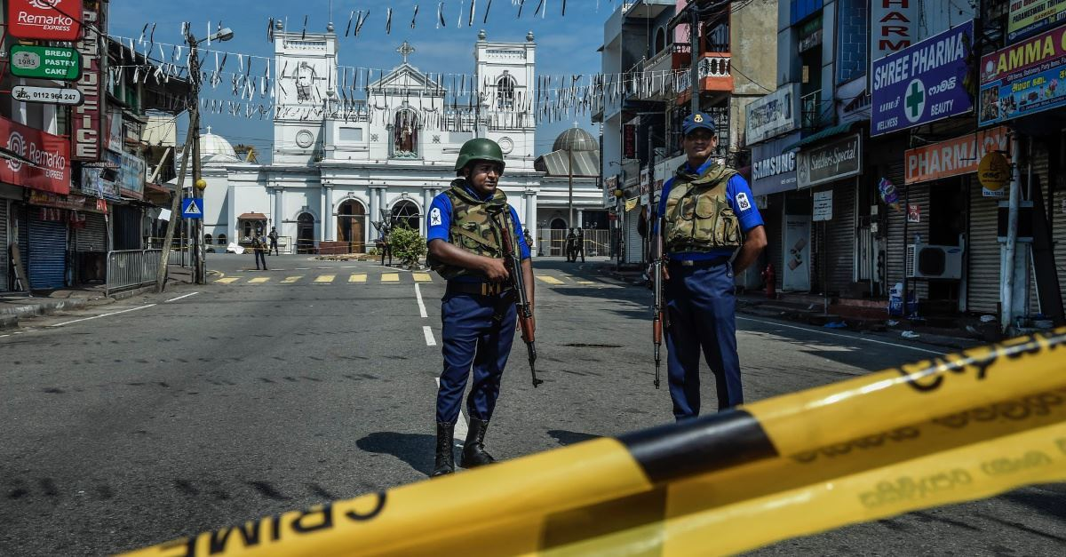 3. What has the environment been like in Sri Lanka since the attacks?