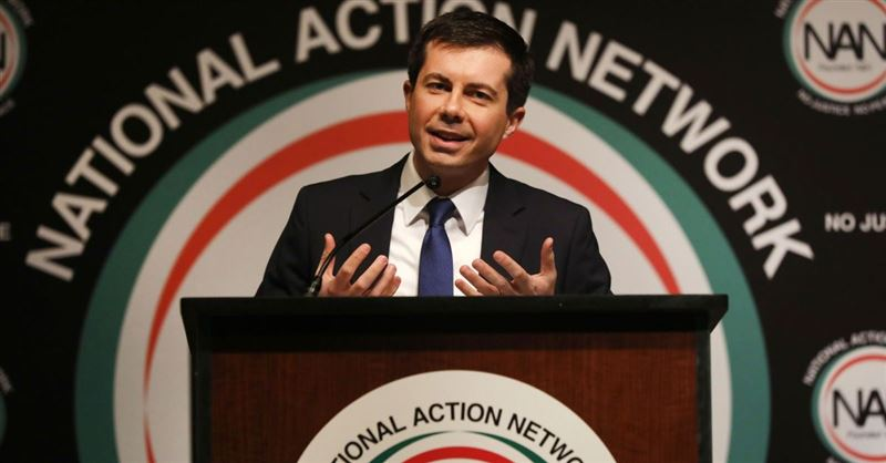 Pete Buttigieg Says He 'Can't Imagine' God Would Be a Republican, then Argues 'God Doesn't Belong to a Political Party'