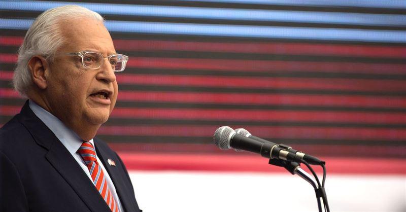Israel Is 'on the Side of God,' U.S. Ambassador to Israel Proclaims