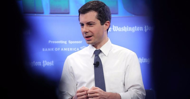 Pete Buttigieg Calls Republicans Hypocritical for Supporting Trump's Border Policies
