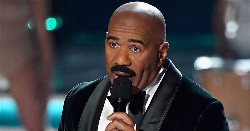 'It's Time to Get in Touch with God': Steve Harvey Brought to Tears after Gospel Singer Prophesied over Him
