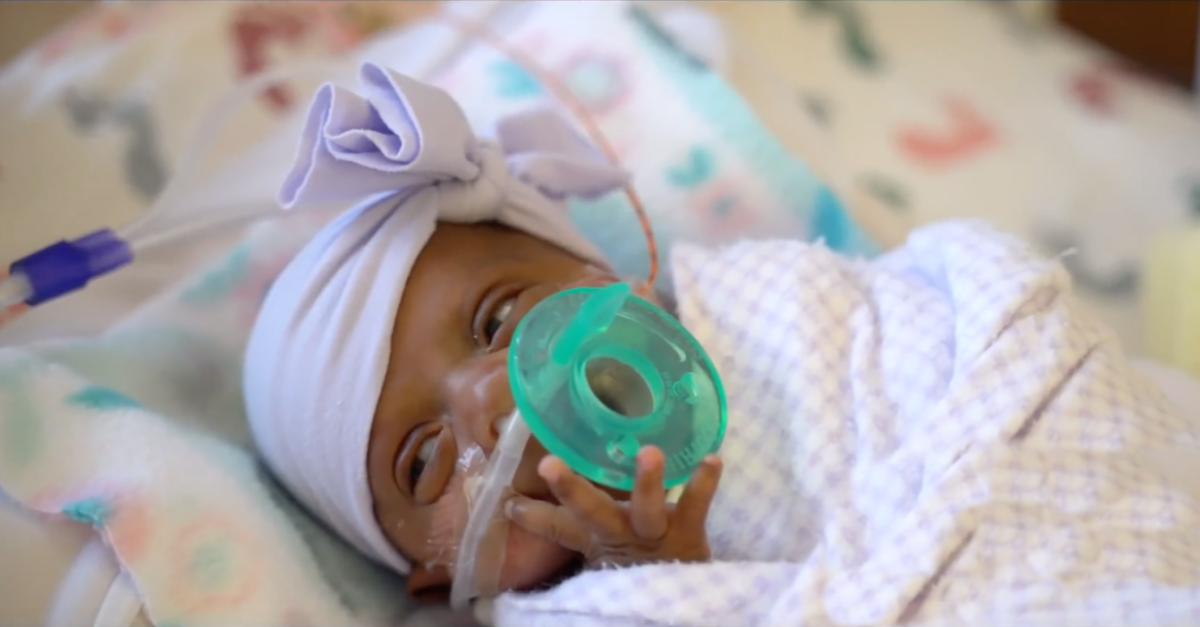 Record-Setting Baby, Born Weighing 8.6 Ounces, Goes Home Healthy