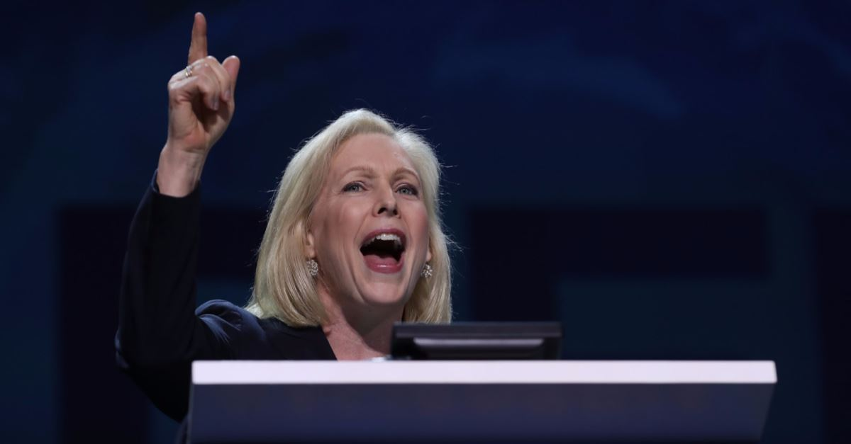 Kirsten Gillibrand Compares Pro-Life Beliefs to Racism: 'The Other Side Is Not Acceptable'