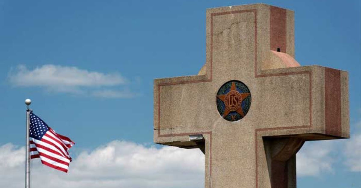 Supreme Court Rules on War Memorial Cross: Good News and Bad News