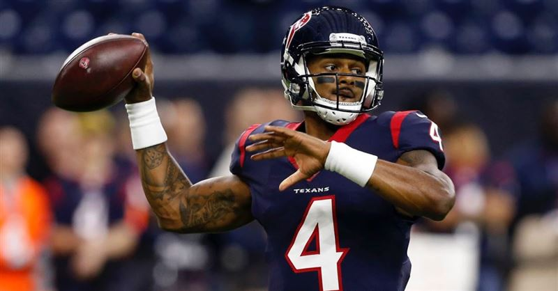 NFL Quarterback Deshaun Watson Gets Baptized in the Jordan River
