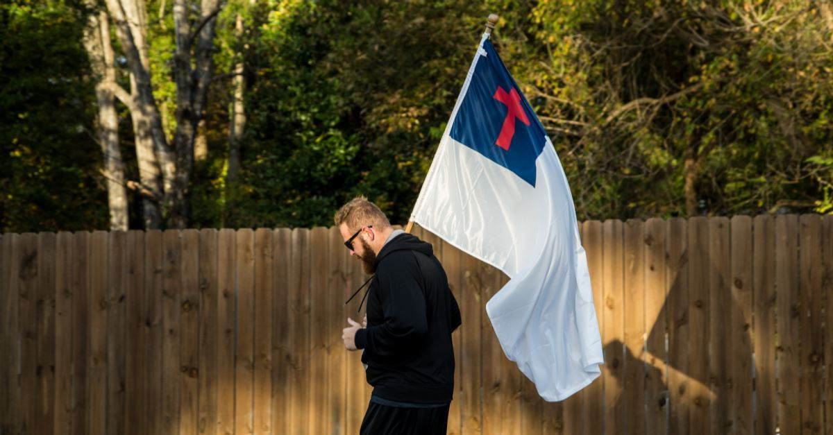Suit: Boston Bans Christian Flag but Approves 284 Other Ones