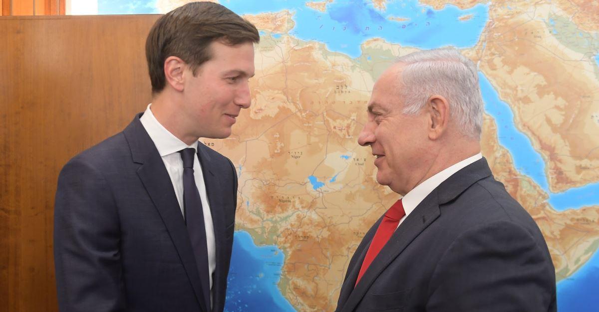 Senior White House Advisor Jared Kushner Meets with Benjamin Netanyahu on Middle East Tour