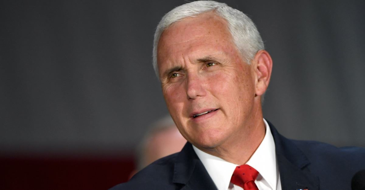 Vice President Mike Pence Is Criticized for Saying He Prays for His Critics