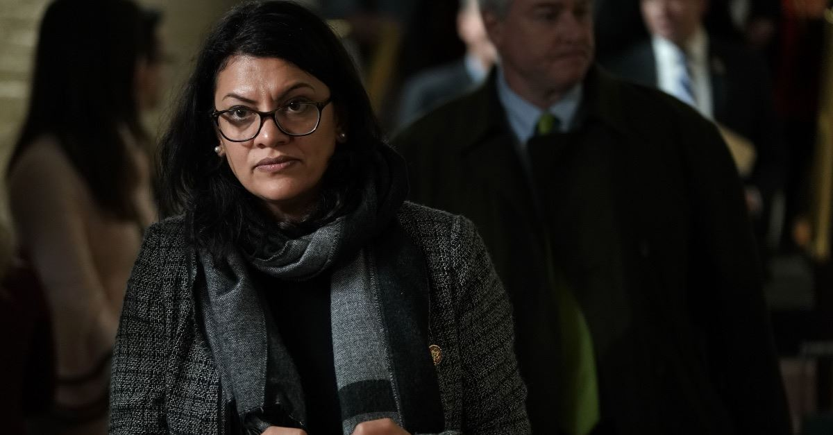 U.S. Rep. Rashida Tlaib Blasts 'Racist' Israel, Won't Accept Country's Offer to Visit