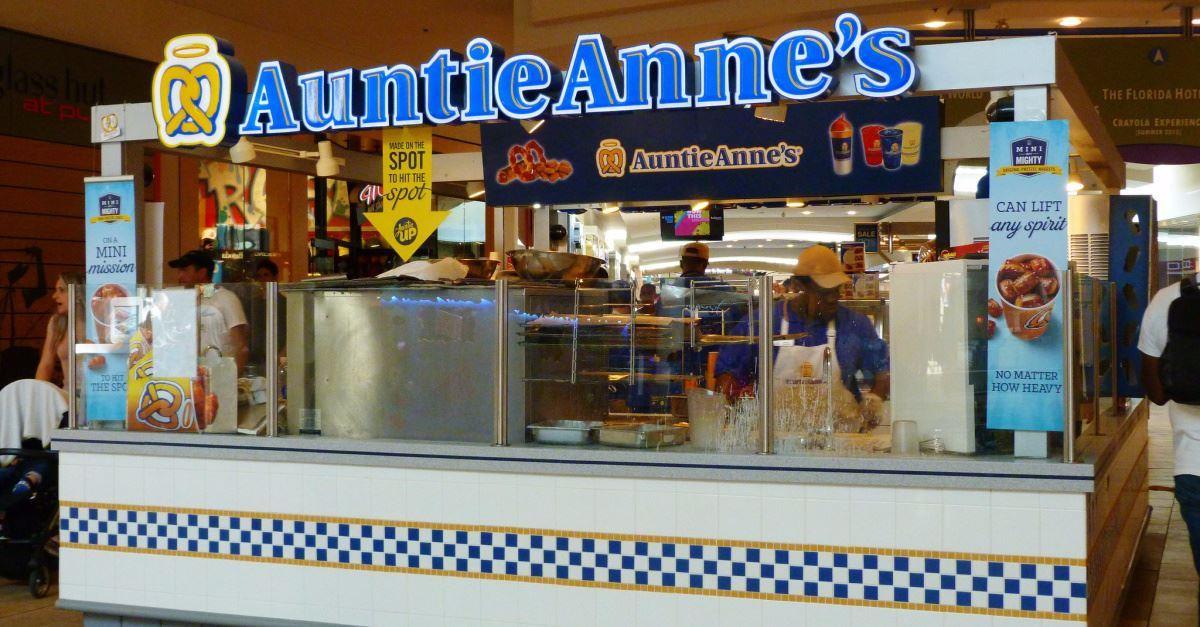 4. Auntie Anne's