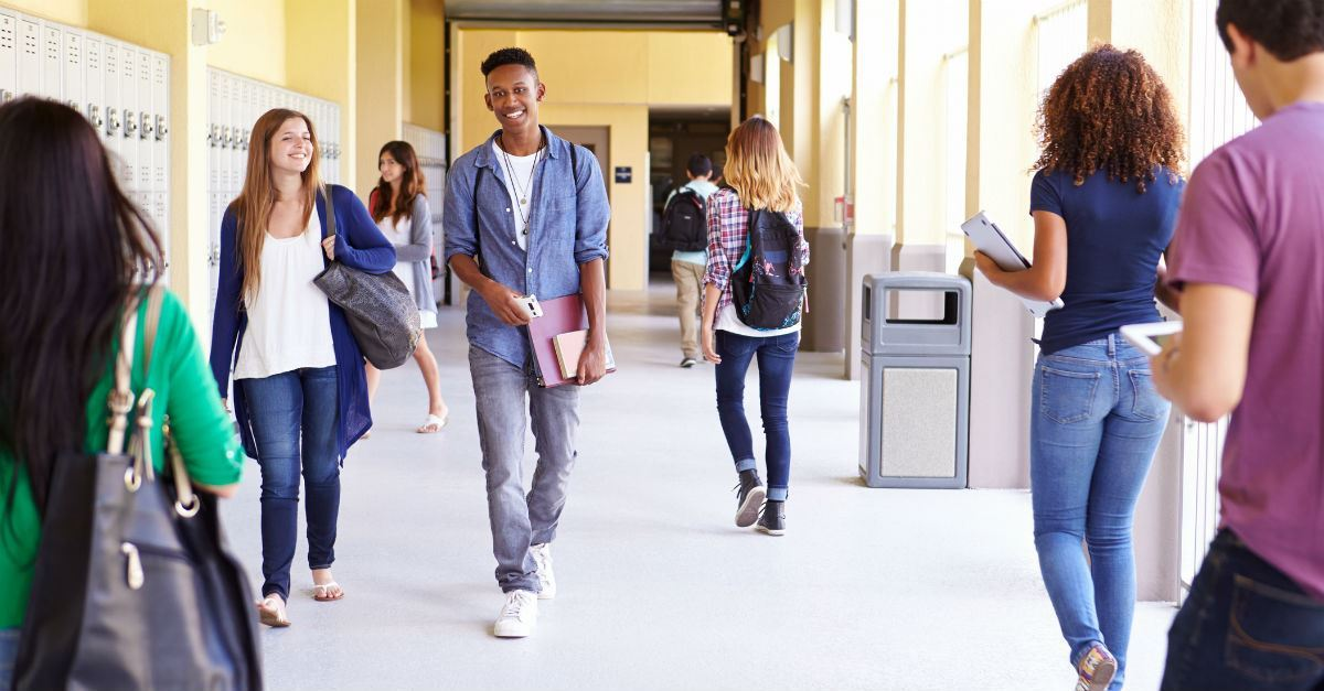 High School Renovated to Protect against Mass Shootings: The Safest Way to a Joyful Future