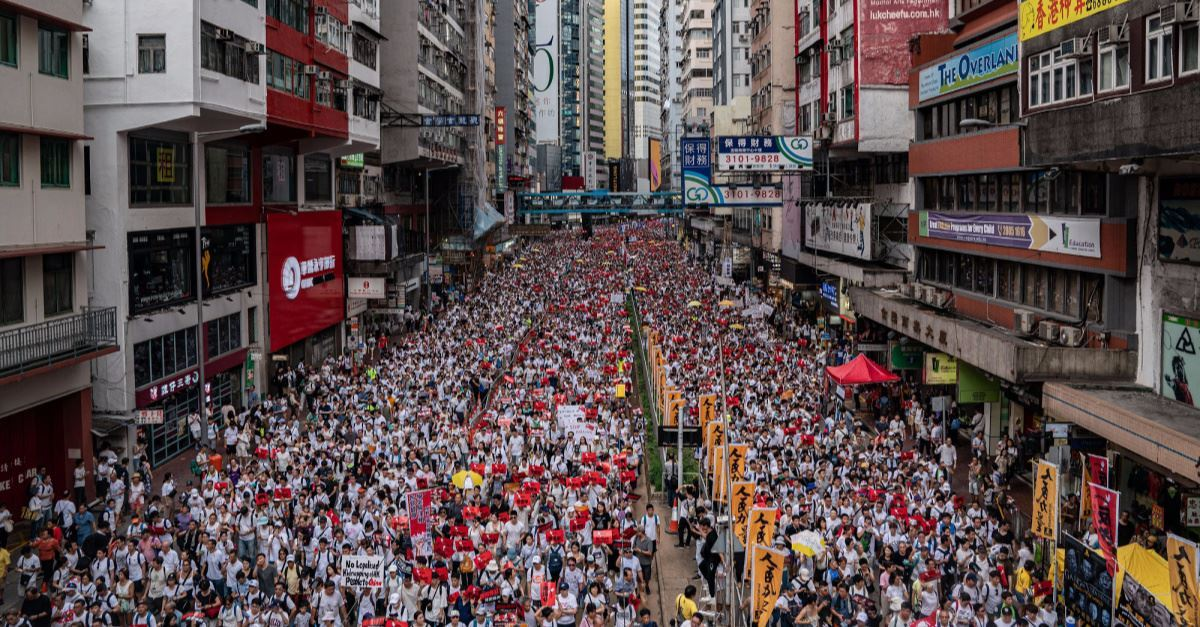 Christian Worship Song Emerges as Anthem for Hong Kong Protests
