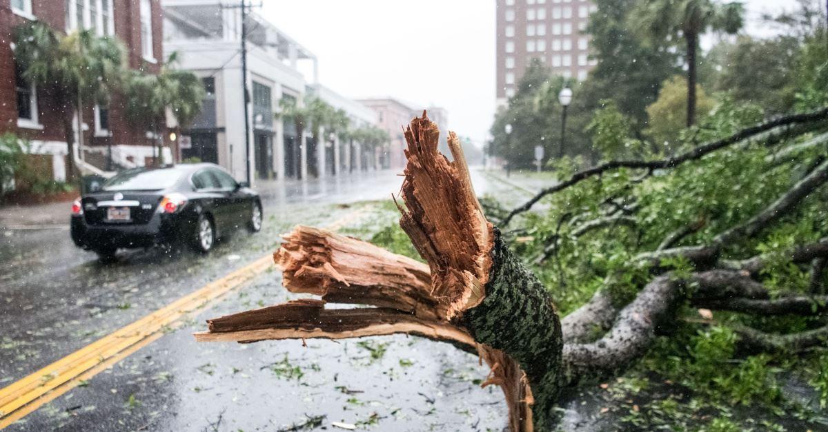 Hurricane Dorian Pounds North and South Carolina Coasts