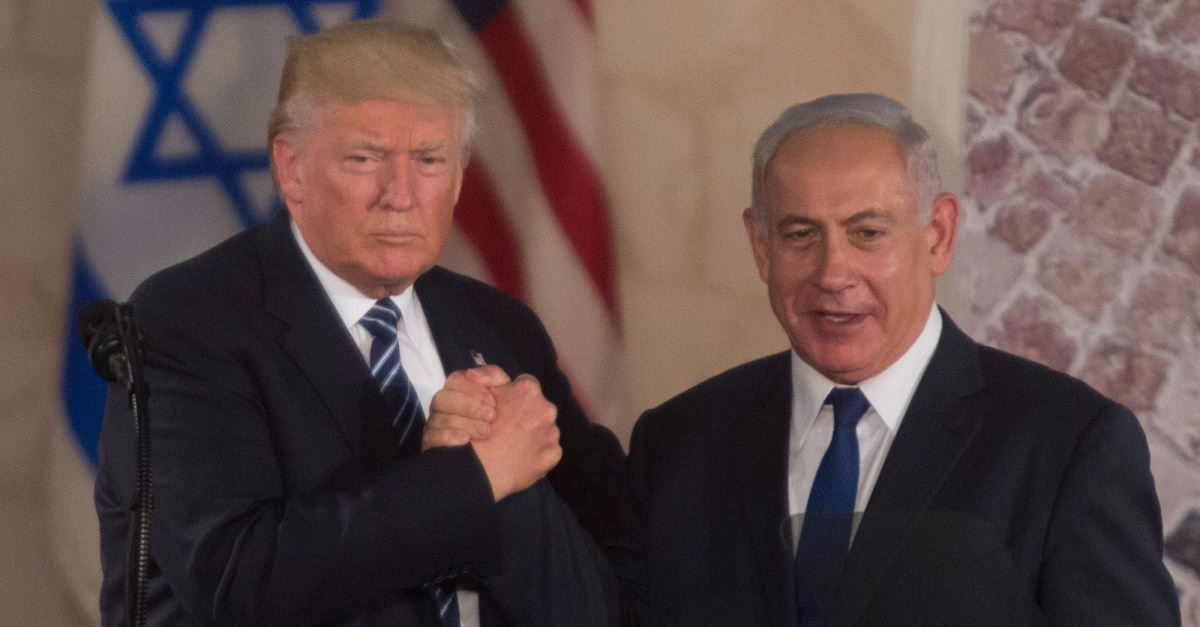 President Trump, Israel's Netanyahu Express Support for 'Historic' U.S.-Israel Mutual Defense Treaty