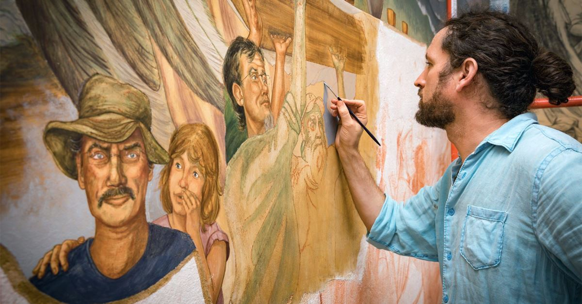 How Does a Church Make the Poor Visible? This One Immortalized Them in a Fresco