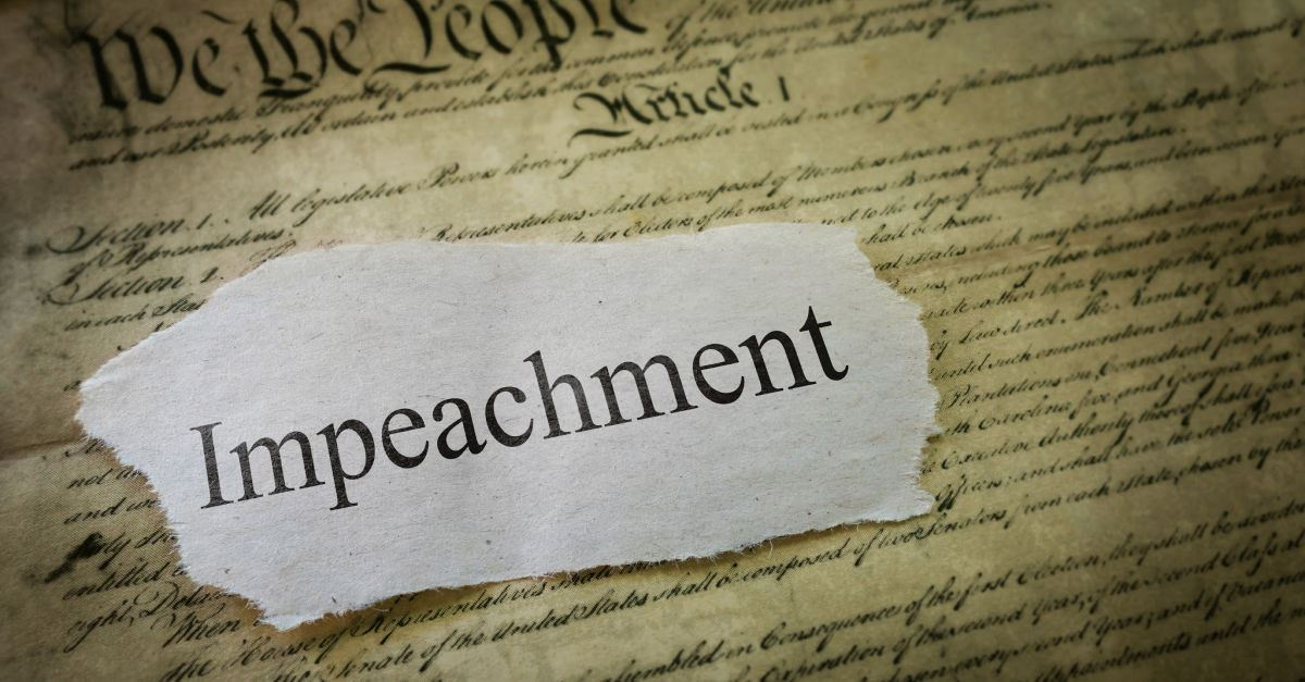 How to Think About Impeachment: Timely Words from Chuck Colson