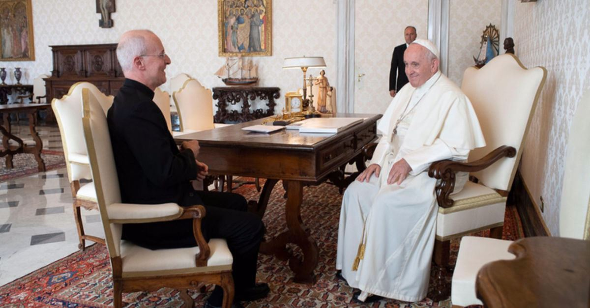 Pope Francis Meets with Priest to Discuss LGBTQ Catholics