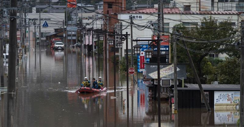 Typhoon Hagibis Wreaks Havoc on Japan, As Many as 33 People Dead