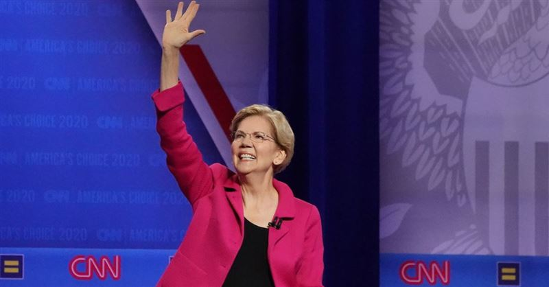 Elizabeth Warren Makes Huge Gains in Democratic Presidential Race
