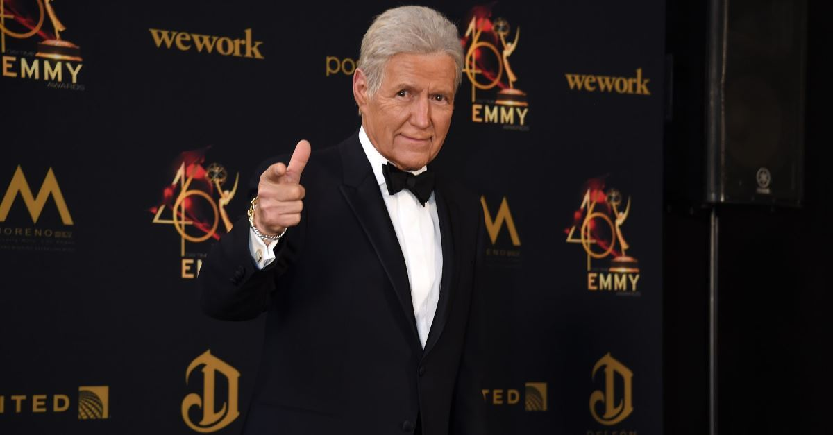 Alex Trebek Has Cancer Setback: 'I'm Nearing the End of My Life'