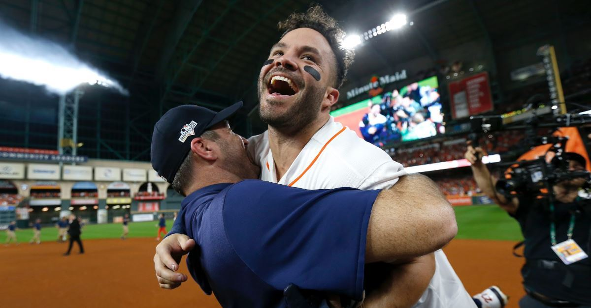 Astros' Jose Altuve Was 'Thanking God' While Hitting ALCS-Winning Home Run