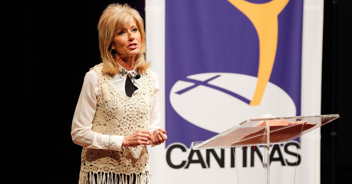 Beth Moore Responds to John MacArthur:  'I Did Not Surrender to a Calling of Man'