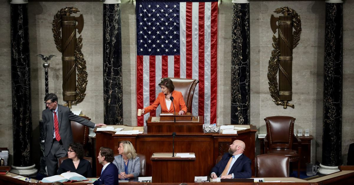 U.S. House Passes Rules of Impeachment with 232-196 Vote
