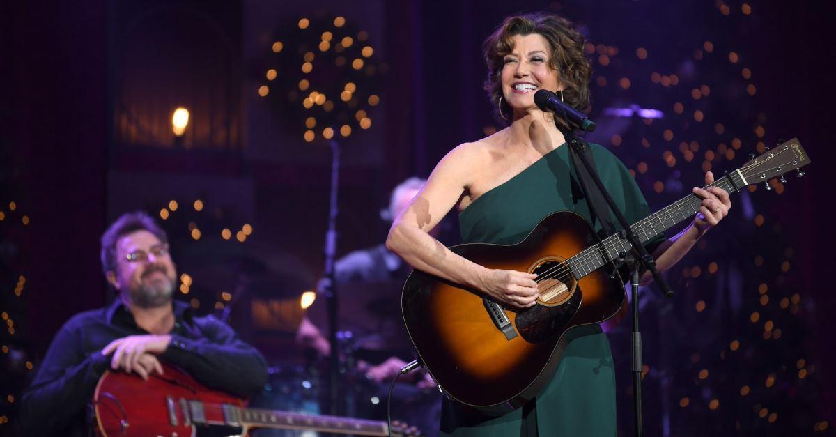 Amy Grant Speaks on Christmas, Her Career, Kirk Franklin