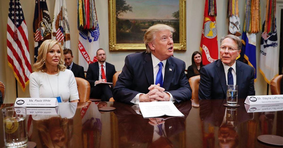 Paula White to Head Trump's Faith Office